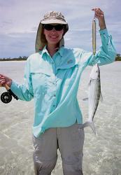 The record 2 lb test fish.