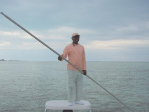 Captain Perry, Grand Bahama Guide and Good Guy.