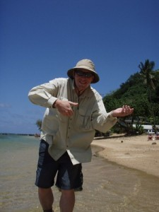 This was the bonefish I caught in Hawaii.