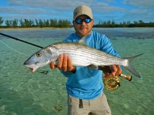 Chris, rocking the Bahamas