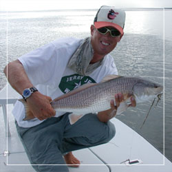 John with a Redfish