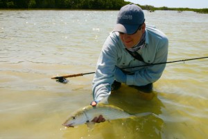 Mexico Bonefish and Dylan.