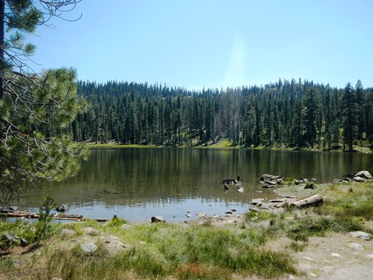 Gumboot Lake, at about 6,000 feet. Pretty.