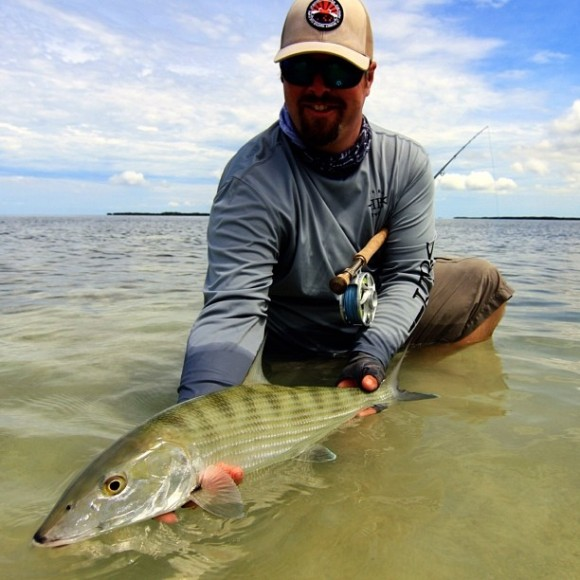 Derek's bone from his Grand SLam. A protected bonefish. Good job FL.