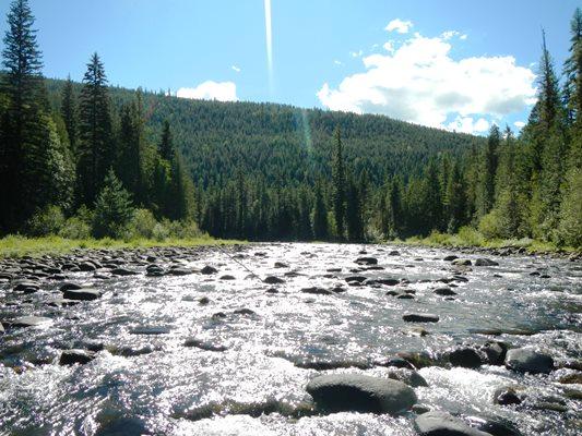 The Yaak River, Montana