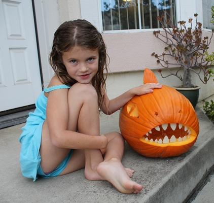 Shark Pumpkin