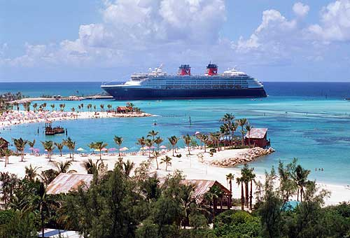 Disney reaches out to destroy a little of the Bahamas.