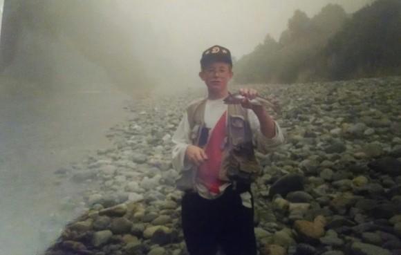 A Klamath River Halfpounder
