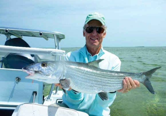 Big, big bonefish.