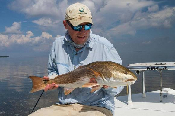 My first redfish, photo from Derek Rust