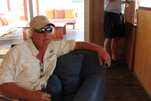 Ken, Abaco Lodge Manager