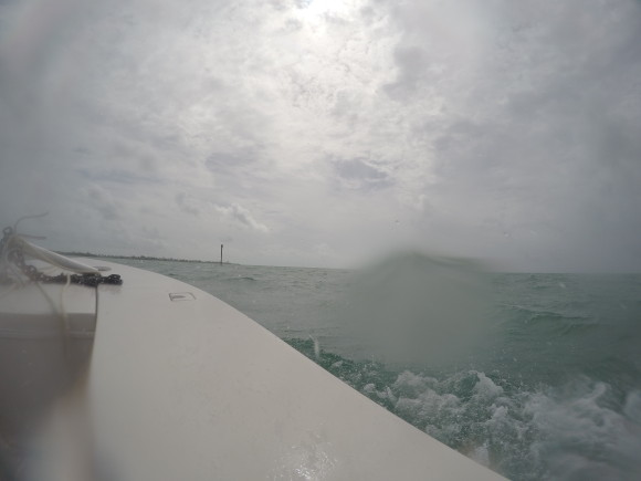 Not great conditions