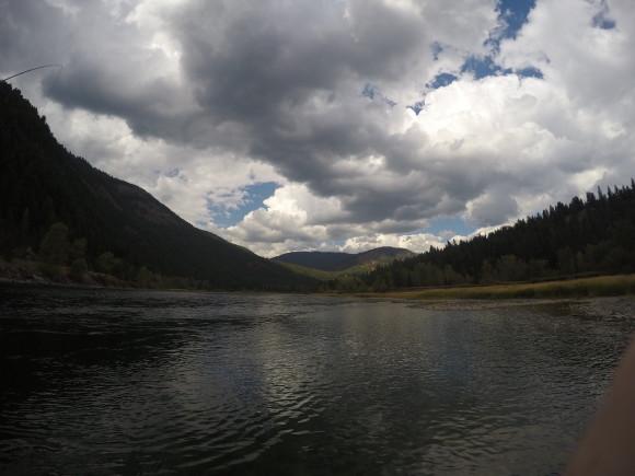 A big river